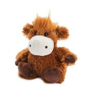 Warmies Cozy Plush Junior Highland Cow Microwaveable Soft Toy